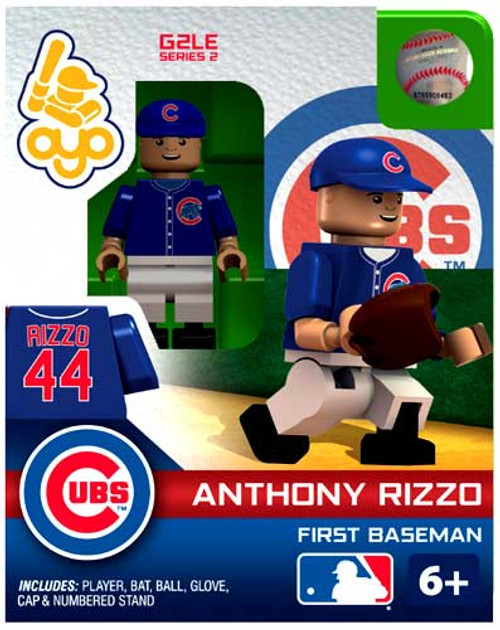 Chicago Cubs MLB Generation 2 Series 2 Anthony Rizzo Minifigure