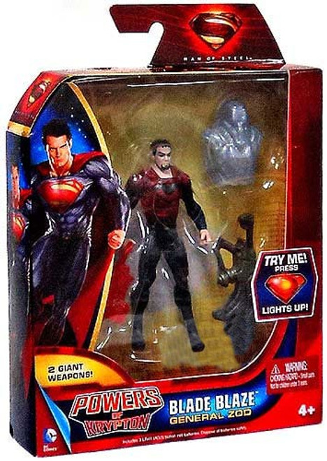 Superman Man of Steel Powers of Krypton General Zod Exclusive Action Figure [Blade Blaze]