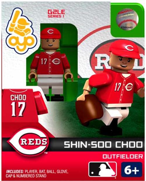 Cincinnati Reds MLB Generation 2 Series 1 Shin-Soo Choo Minifigure