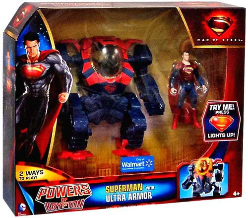 Man of Steel Powers of Krypton Superman Exclusive Action Figure [Ultra Armor]