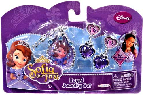 Disney Sofia the First Royal Jewelry Set Dress Up Toy