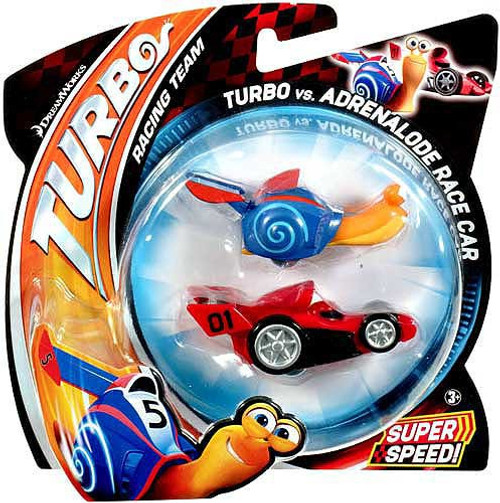Turbo vs Adrenalode Race Car Vehicle 2-Pack