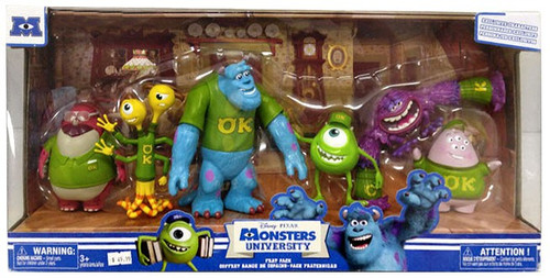 Fisher Price Disney / Pixar Monsters University Frat Pack Exclusive Figure Set [Oozma Kappa]