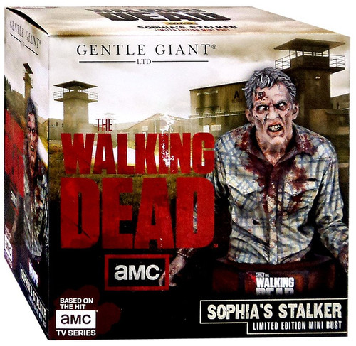 The Walking Dead AMC TV Statues & Busts Sophia's Stalker Mini-Bust