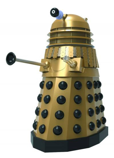 Doctor Who Dalek Bust [Gold Destiny of the Doctor Ver]