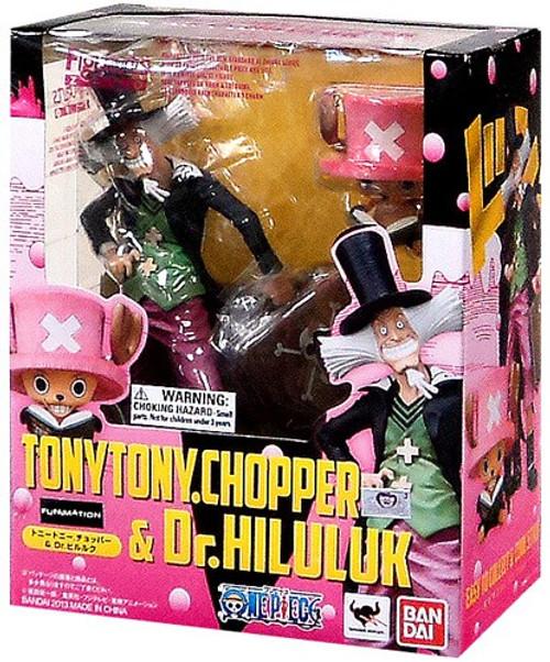 One Piece Figuarts ZERO Chopper & Dr Hiluluk Statue