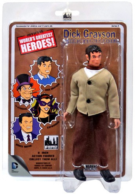 Batman World's Greatest Heroes Series 2 Dick Grayson Action Figure
