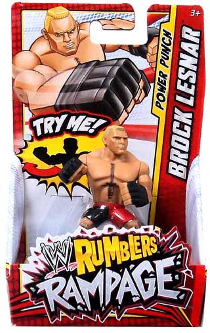 WWE Wrestling Rumblers Rampage Brock Lesnar Mini Figure
