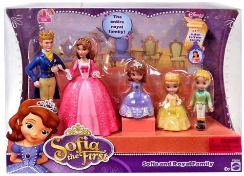 Disney Sofia the First Sofia and Royal Family Figure Set #11