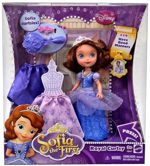 Disney Sofia the First Royal Curtsy Sofia Doll #19