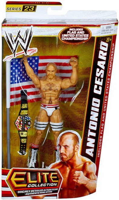 WWE Wrestling Elite Series 23 Antonio Cesaro Action Figure [Flag & United States Championship Belt]