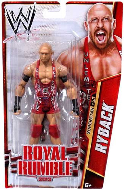 WWE Wrestling Series 32 Ryback Action Figure #53