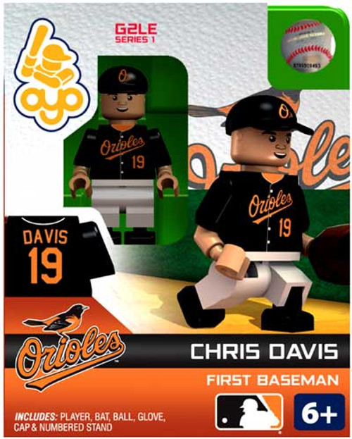 Baltimore Orioles MLB Generation 2 Series 1 Chris Davis Minifigure