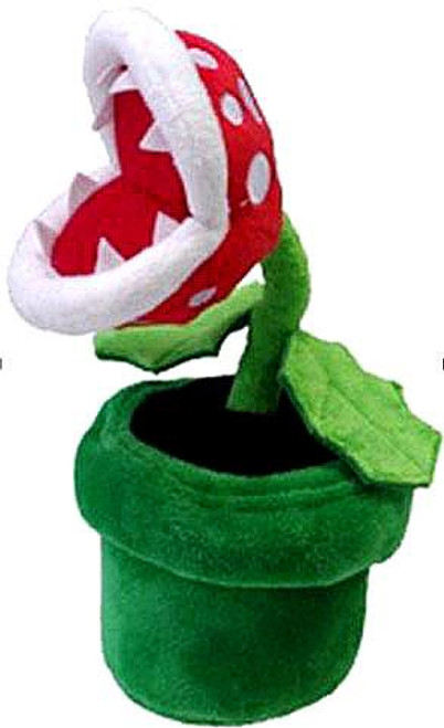 Super Mario Bros Piranha Plant 8-Inch Plush