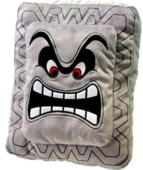 Super Mario Thwomp Plush Pillow