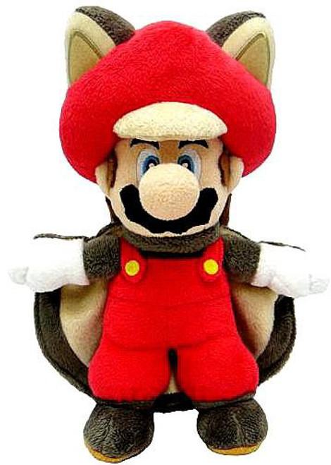 Super Mario Mario 9-Inch Plush [Flying Squirrel]