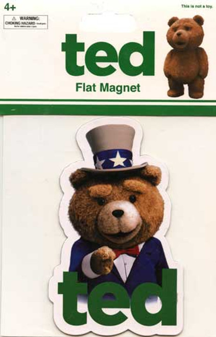 Ted Movie Uncle Sam Ted Magnet