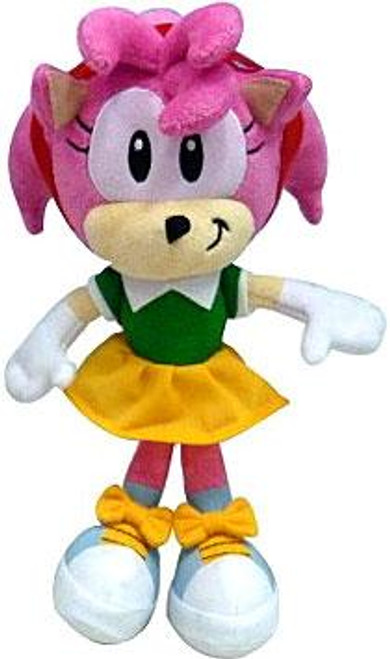 Sonic The Hedgehog Amy 7-Inch Plush