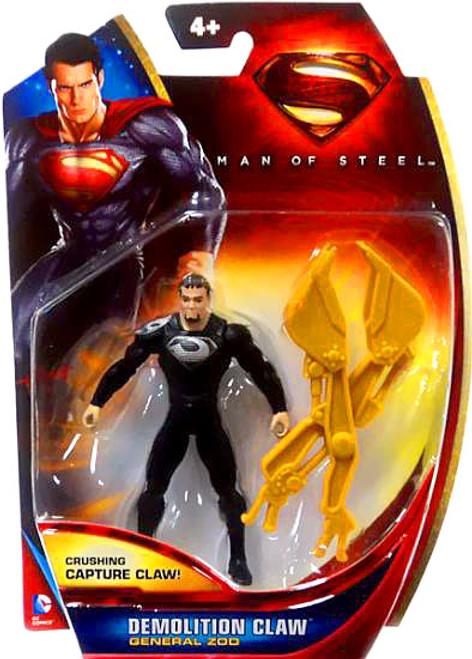 Superman Man of Steel General Zod Action Figure [Demolition Claw]