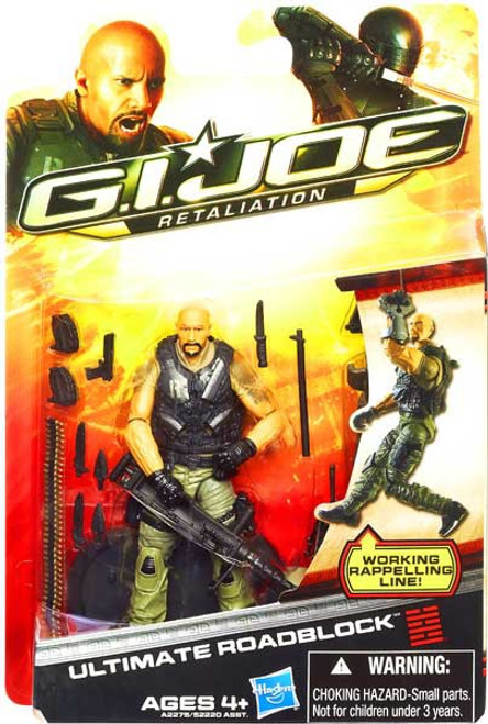 GI Joe Retaliation Ultimate Roadblock Action Figure