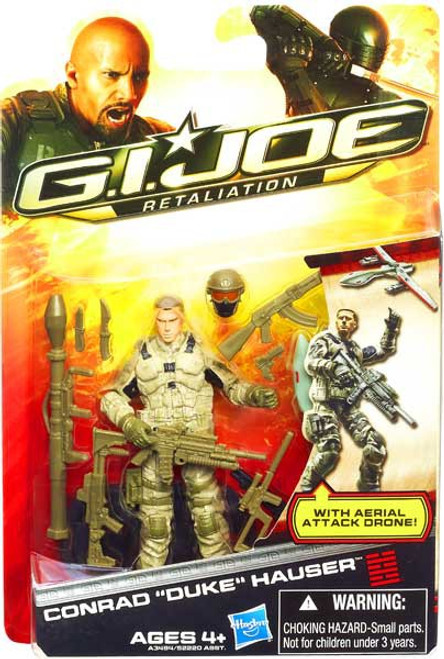 GI Joe Retaliation Conrad Hauser Duke Action Figure [Aerial Attack]