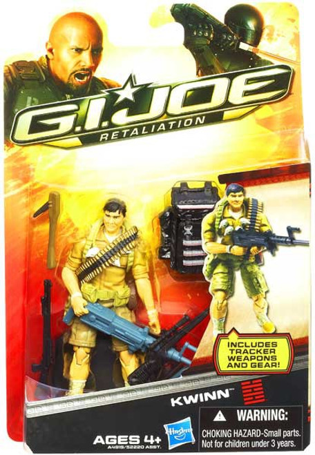 GI Joe Retaliation Kwinn Action Figure