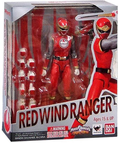 Power Rangers Ninja Storm S.H. Figuarts Red Wind Ranger Action Figure