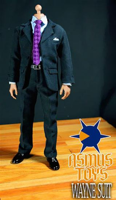 Asmus Toys Batman The Dark Knight Wayne Suit 1/6 Clothing Set