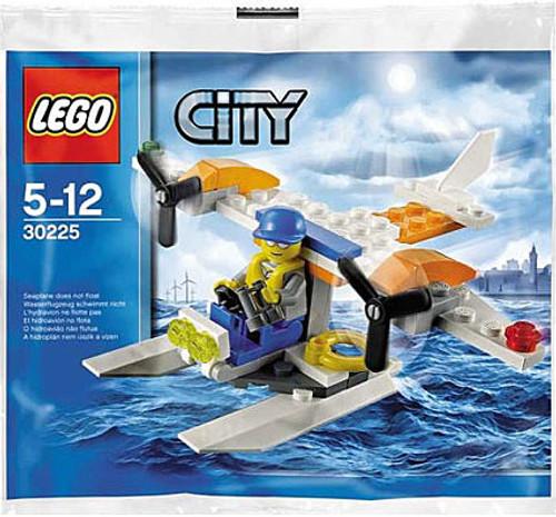 LEGO City Coast Guard Seaplane Mini Set #30225 [Bagged]