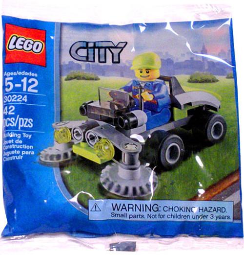 LEGO City Rider on Lawn Mower Mini Set #30224 [Bagged]