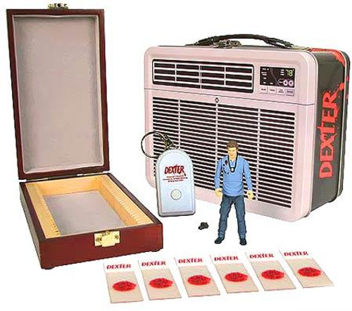 Dexter Tin Tote Exclusive Action Figure Set