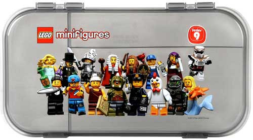 LEGO Minifigures Series 9 Minifigure Carry Case