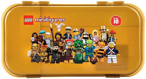 LEGO Minifigures Series 10 Minifigure Carry Case