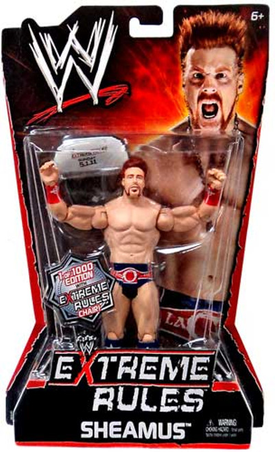 WWE Wrestling Extreme Rules Sheamus Action Figure [With Chair]