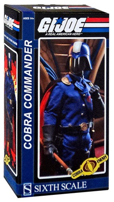 GI Joe Cobra Enemy Cobra Commander 1/6 Collectible Figure [The Dictator]