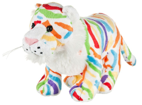 Webkinz Colorsplash Tiger Plush