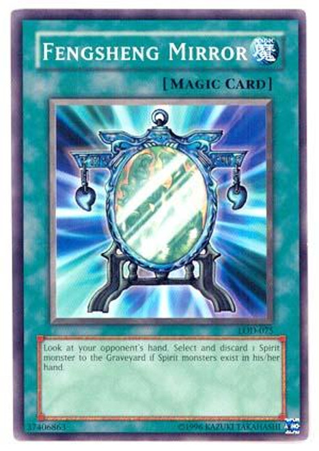 YuGiOh Legacy of Darkness Common Fengsheng Mirror LOD-075