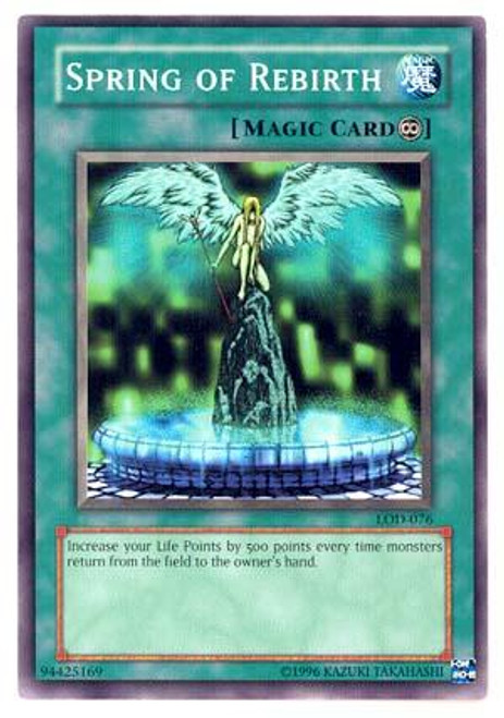 YuGiOh Legacy of Darkness Common Spring of Rebirth LOD-076