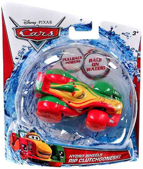 Disney Cars Hydro Wheels Rip Clutchgoneski Plastic Car