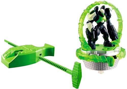 Max Steel Turbo Battlers Cytro Figure #1 [Green]