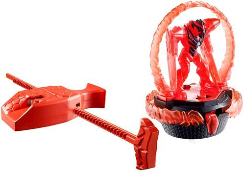 Max Steel Turbo Battlers Dredd Figure #3 [Translucent Red]