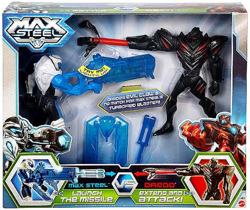 Max Steel Claw Dredd vs. Blaster Max Battle Pack