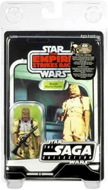 Star Wars The Empire Strikes Back Saga Collection 2007 Vintage Bossk Action Figure