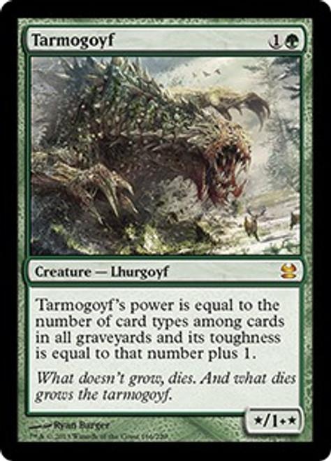 MtG Modern Masters Mythic Rare Tarmogoyf #166