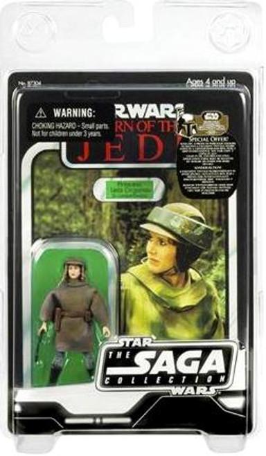 Star Wars Return of the Jedi Saga Collection 2007 Vintage Princess Leia Organa Action Figure [Endor]