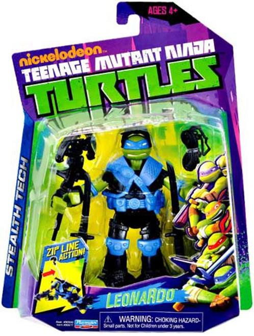 Teenage Mutant Ninja Turtles Nickelodeon Stealth Tech Leonardo Action Figure