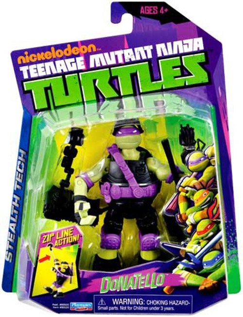 Teenage Mutant Ninja Turtles Nickelodeon Stealth Tech Donatello Action Figure