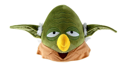 Star Wars Angry Birds Yoda Bird 8-Inch Plush