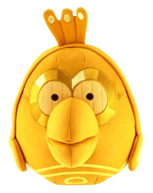 Star Wars Angry Birds C-3PO Bird 8-Inch Plush