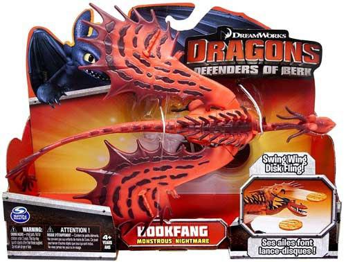 How to Train Your Dragon Defenders of Berk Hookfang Action Figure [Monstrous Nightmare]